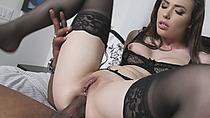 BBC Shane Diesel devouring milky white Casey Calvert lusty pussy