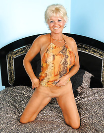 Nude hot old granny