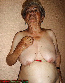 Nude latina granny