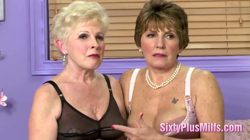 A couple of milfs with toys