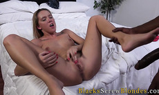 Teen creampied by big rod