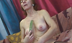 Horny mature bitch gets fucked hard from behind