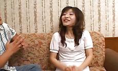Sensual Japanese enjoys plenty of stiff things in her cunt