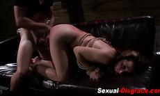 Bound slave hardcore fuck