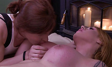 Shemale beauty Aspen in a hot sex with TS Stefani