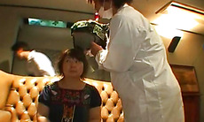 Cock sucking Mikan Tokonatsu ends porn play with creampie