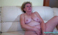 Granny Joins Couple in a Threesome