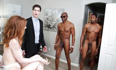 Pepper Hart Interracial Anal Gangbang - Cuckold Sessions