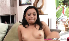 Asian stepmoms in 3way