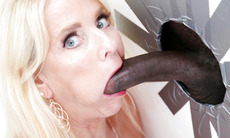 Nana Cammille Austin Loves Big Black Cock - Gloryhole