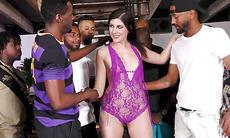 Miranda Miller Loves To Suck Big Black Cocks