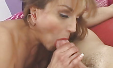 Juicy pussy banged with big dick
