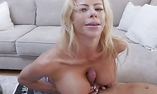 Cougar stepmother hyped a boring movie