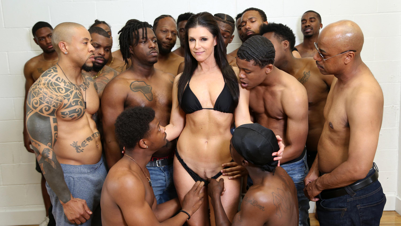 Black Gangbang Porn Pics